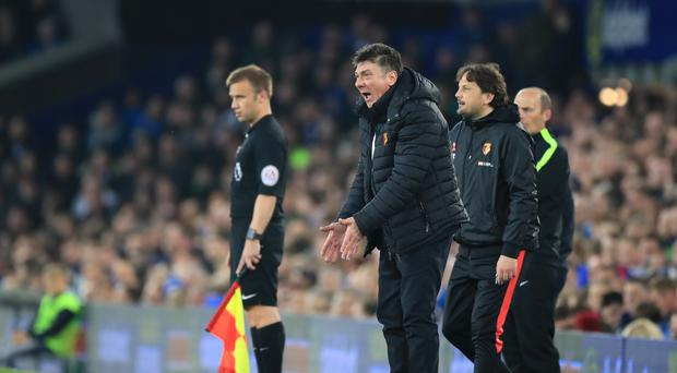 Watford manager Walter Mazzarri wants focus from his side when they take on newly-crowned Premier League champions Chelsea at Stamford Bridge