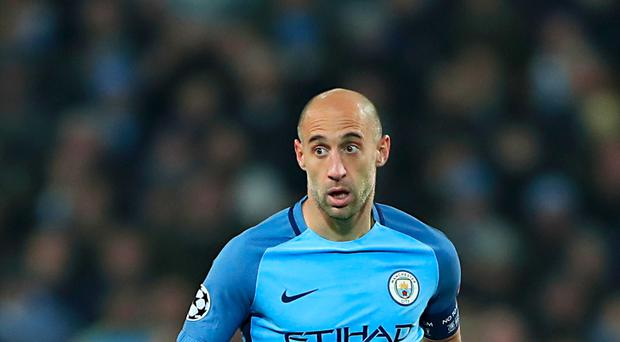Pablo Zabaleta is set to make his final home appearance for Manchester City