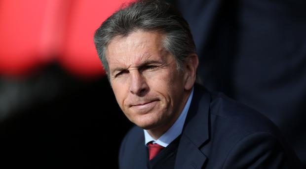 Claude Puel's future at St Mary's is uncertain