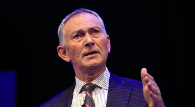 Richard Scudamore, pictured, met UEFA president Aleksander Ceferin in Switzerland on Tuesday