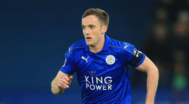 Midfielder Andy King has become the latest Leicester player to fall to injury.