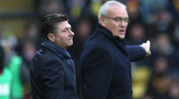 Could Watford replace one Italian manager with another when Walter Mazzarri (left) leaves Vicarage Road at the end of the season?