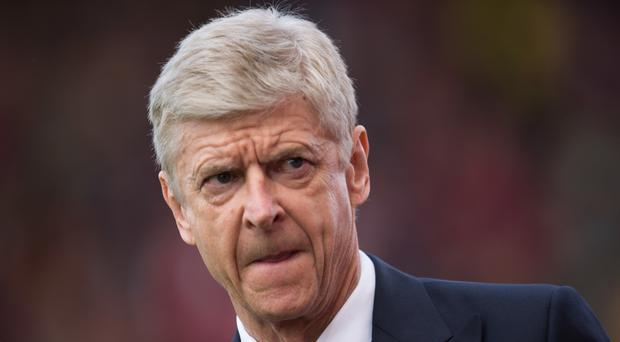Arsene Wenger is out of contract this summer