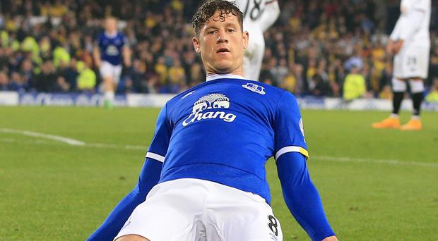 Ross Barkley's Everton contract expires in the summer of 2018