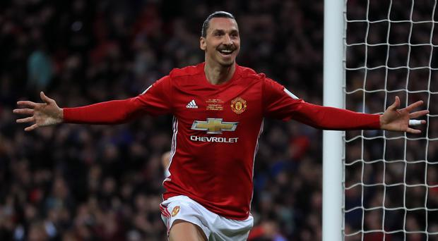 Zlatan Ibrahimovic introduced himself in style