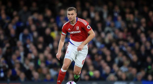 Middlesbrough's Ben Gibson (pictured) remains in the dark over his future