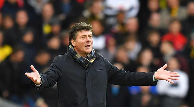 Walter Mazzarri will take charge of his final Watford game on Sunday