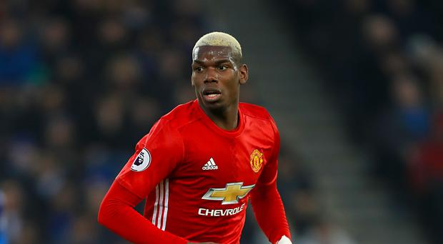 Paul Pogba is set to line up in a very inexperienced Manchester United side against Crystal Palace