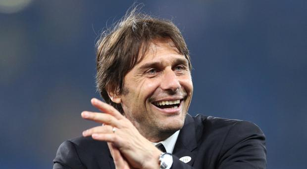 Chelsea head coach Antonio Conte applauded his players' application prior to the final match of their Premier League-winning season