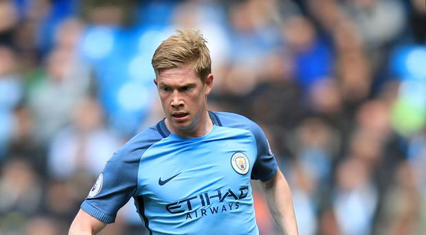 Manchester City's Kevin De Bruyne has been short of luck in front of goal