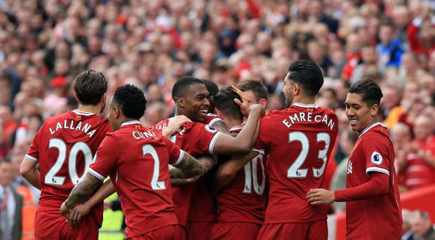 Liverpool celebrated a top-four finish in the Premier League