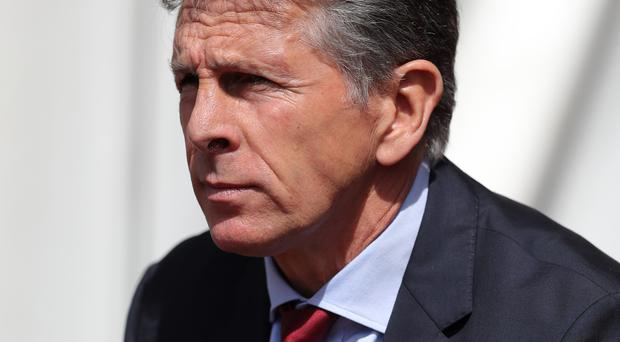 Southampton manager Claude Puel was booed by the club's supporters during their 1-0 home defeat by Stoke