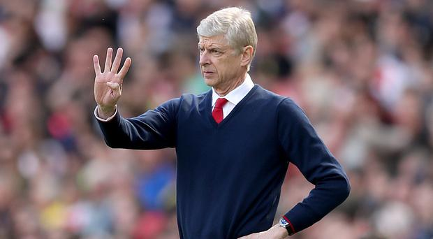 Arsenal manager Arsene Wenger would not discuss his future after missing out on the Champions League on the final day of the season
