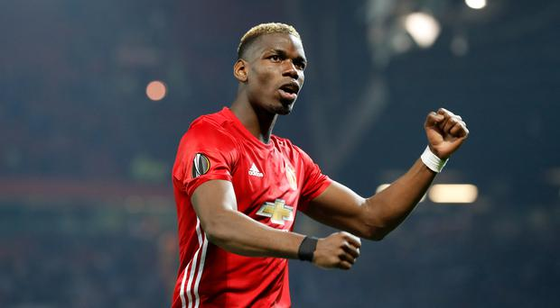 Paul Pogba could feature for Manchester United in a pre-season fixture at the Aviva Stadium in Dublin.