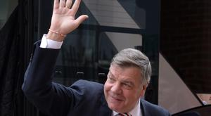 Sam Allardyce is waving goodbye to football for the time being after standing down from the manager's job at Crystal Palace