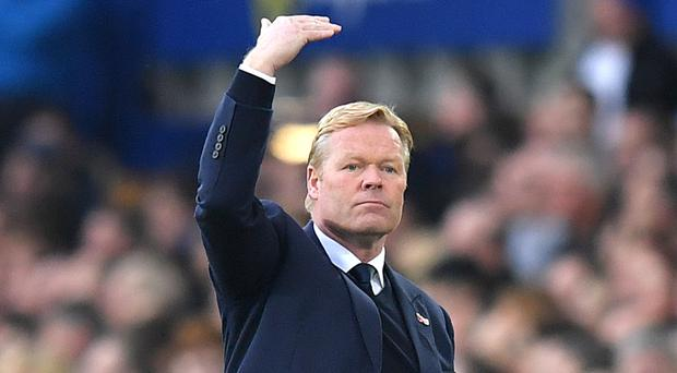 Everton manager Ronald Koeman wants to sign some more creative players in the summer.