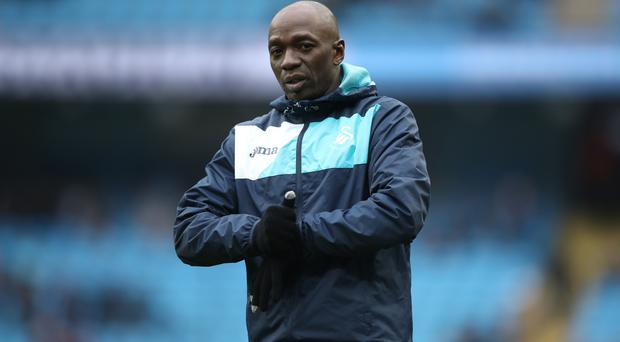 Claude Makelele, pictured, previously worked with Swansea boss Paul Clement at Chelsea and Paris St Germain