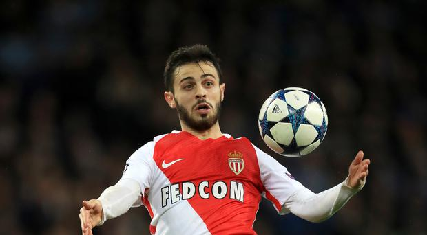 Monaco's Bernardo Silva is on the verge of a move to Manchester City.