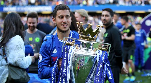 Eden Hazard wants to add the FA Cup to the Premier League title to send a message to Chelsea's rivals
