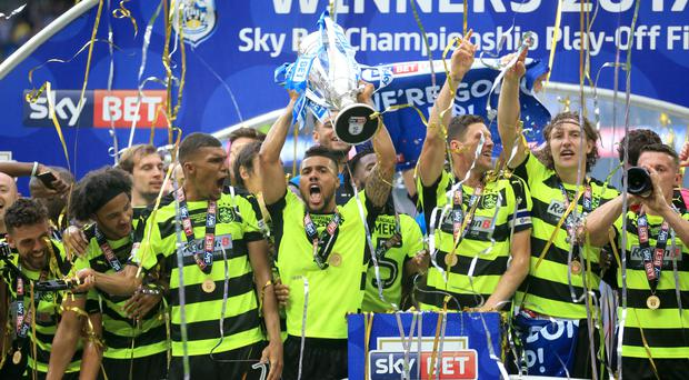 Huddersfield will play in the top flight for the first time in 45 years next season