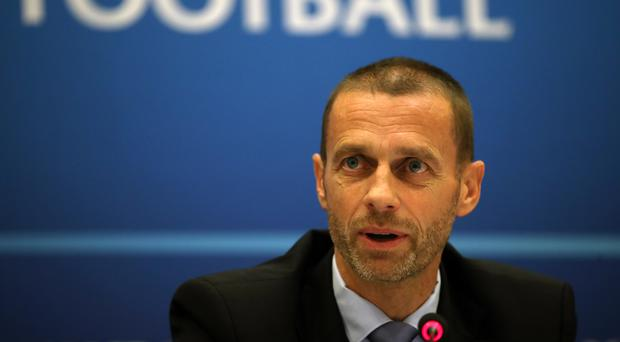 UEFA president Aleksander Ceferin has dismissed the idea that Champions League matches will be switched to weekends