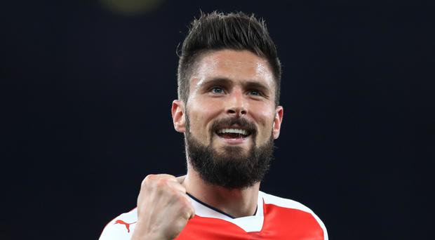 Olivier Giroud has said he wants to stay at Arsenal