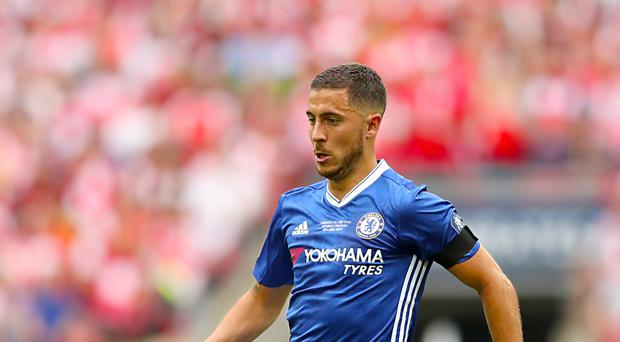 Eden Hazard said he would listen to an offer from Real Madrid