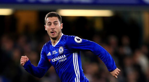 Chelsea's Eden Hazard has a fractured ankle