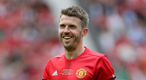 Michael Carrick, pictured, still has plenty to offer Manchester United, according to Ryan Giggs