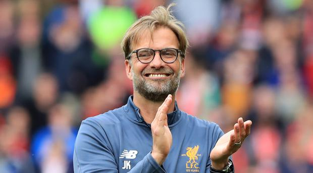 Liverpool manager Jurgen Klopp is optimistic about the future.