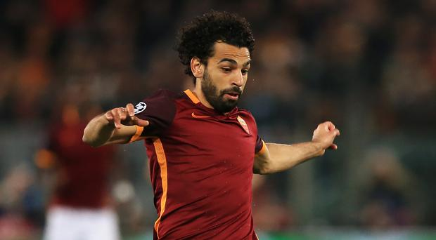 Liverpool's pursuit of Roma winger Mohamed Salah has stalled