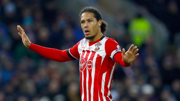 Liverpool have said sorry to Southampton over their interest in Virgil van Dijk