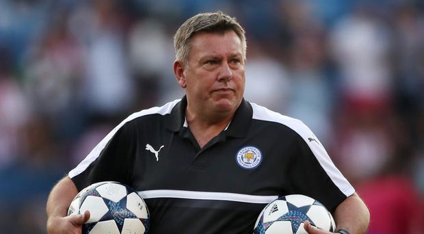 Leicester boss Craig Shakespeare initially replaced Claudio Ranieri in February