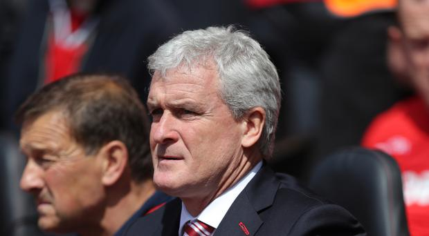Stoke manager Mark Hughes has received the backing of chairman Peter Coates.