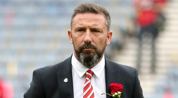 Derek McInnes led Aberdeen to two cup finals last term