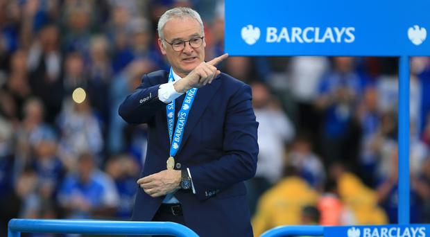 Claudio Ranieri was sacked less than 300 days after guiding Leicester to Premier League glory