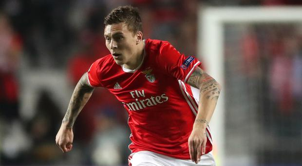 Victor Lindelof waited patiently for his chance at Benfica