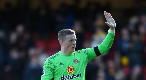 Jordan Pickford has completed his £30million move to Everton.
