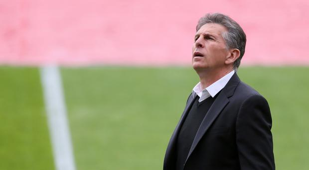 Claude Puel was sacked after a single season at St Mary's
