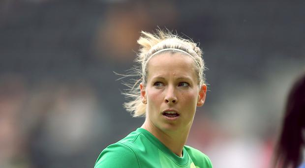 Rachel Brown-Finnis is not impressed by the absence of a Manchester United women's team