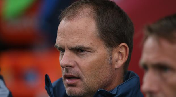 Former Dutch international Frank de Boer appears on the verge of becoming the new manager at Crystal Palace
