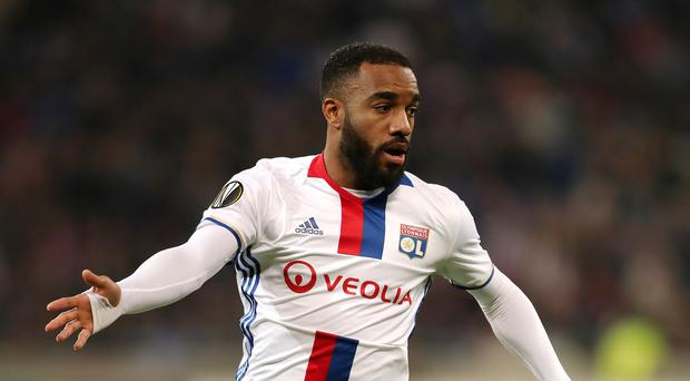 Alexandre Lacazette is reportedly on Arsenal's radar