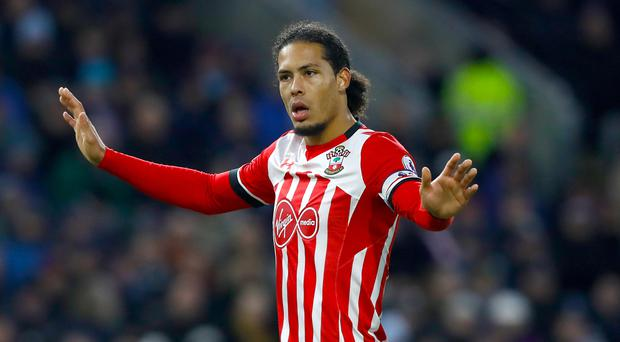 Southampton's Virgil van Dijk is a wanted man this summer