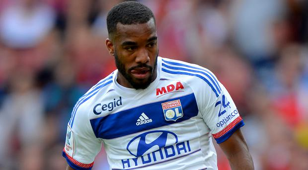 Alexandre Lacazette appears to be Arsenal-bound