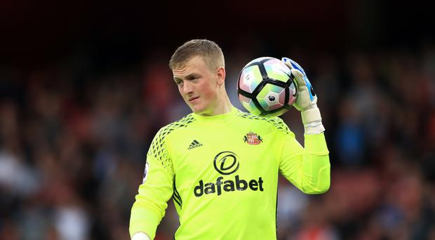 Jordan Pickford joined Everton from relegation Sunderland last month