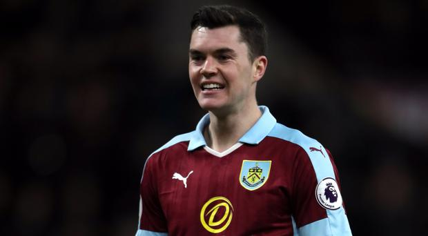 Defender Michael Keane has completed his move from Burnley to Everton