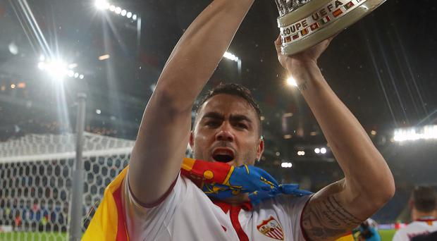 Sevilla say they have agreed a deal with Leicester for the sale of midfielder Vicente Iborra