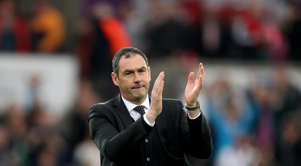 Swansea boss Paul Clement, pictured, has made Spanish midfielder Roque Mesa his third summer signing in an £11million deal