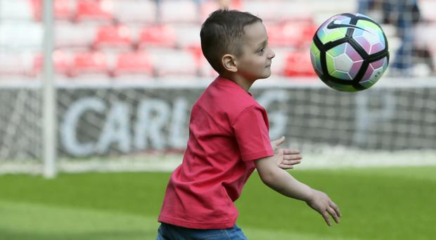 Tributes have poured in after the death of Sunderland fan Bradley Lowery