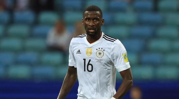 Roma's Germany defender Antonio Rudiger has joined Chelsea
